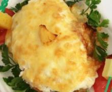 Филе грудки под сырной шапкой
